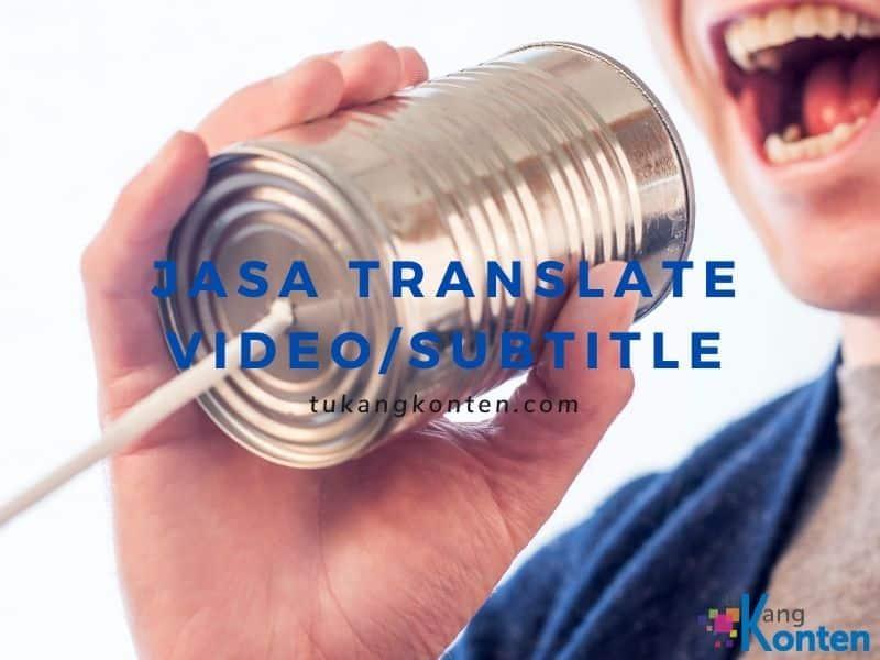 jasa video translate